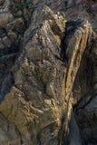 La struttura della fine della roccia su Fotografia Stock