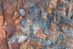 La struttura della pietra, granito Immagine Stock Libera da Diritti