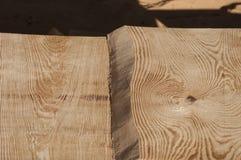 La struttura della plancia di legno da desidera ardentemente il soffitto della casa di ceppo Fotografie Stock Libere da Diritti