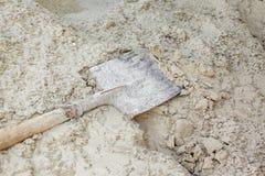 La struttura della sabbia Fotografie Stock