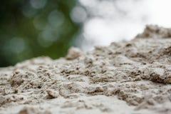 La struttura della sabbia Fotografia Stock