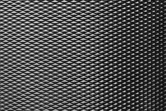 La struttura della spazzola del metallo di forma del diamante Immagini Stock