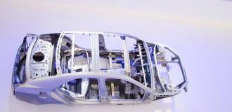 La struttura della struttura dell'automobile Fotografie Stock