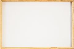 La struttura della tela ha graffiato indietro il retro per pittura incorniciata o l'immagine sulla barella di legno Fondo astratt fotografia stock