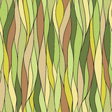 La struttura delle foglie Reticolo senza giunte Illustrazione di Stock