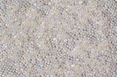 Contesto bianco del gel di silice Fotografia Stock