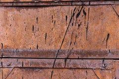 La struttura delle porte del metallo Fotografia Stock