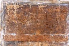 La struttura delle porte del metallo Fotografia Stock Libera da Diritti
