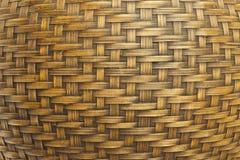 La struttura di bambù antico handcraft Fotografia Stock