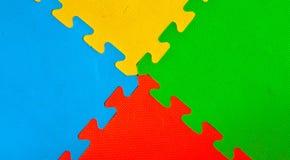 La struttura di gomma del pavimento Immagini Stock Libere da Diritti