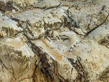 La struttura di immagine della struttura della pietra naturale per uso come illustrazioni per il testo o i precedenti Fotografia Stock Libera da Diritti