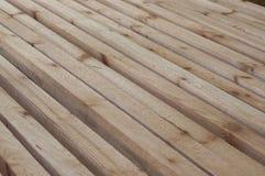 La struttura di legname da desidera ardentemente l'uso nella costruzione di casa del ceppo Fotografie Stock Libere da Diritti