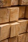 La struttura di legno dei blocchi Fotografia Stock Libera da Diritti