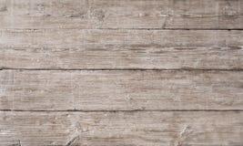 La struttura di legno del grano della plancia, bordo di legno ha barrato la fibra, vecchio pavimento Immagine Stock Libera da Diritti