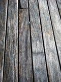La struttura di legno del grano della plancia, bordo di legno ha barrato la vecchia fibra Fotografia Stock Libera da Diritti
