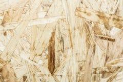 La struttura di legno del truciolato, fondo dell'estratto di architettura del primo piano Fotografia Stock