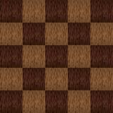 La struttura di legno ha quadrato il modello eps10 Illustrazione di Stock