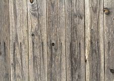 La struttura di legno di marrone scuro con il modello naturale per fondo, corteggia Immagine Stock