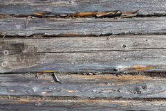 La struttura di legno naturale Fotografia Stock