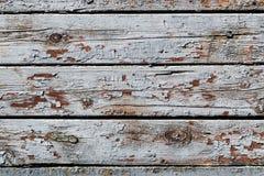 La struttura di legno rustica con i modelli naturali della pittura incrinata sorge come fondo fotografia stock libera da diritti