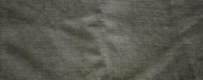 La struttura di panno di sacco marrone molto vecchio Retro struttura con il materiale della tela Immagine di sfondo con lo spazio fotografia stock