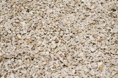 La struttura di piccole pietre Fotografie Stock
