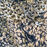 La struttura di tessuto barra il serpente Fotografie Stock Libere da Diritti