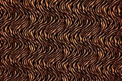 La struttura di tessuto barra la tigre Fotografie Stock Libere da Diritti