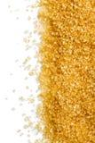 Struttura di zucchero marrone fotografia stock libera da diritti