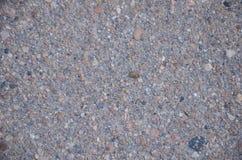La struttura granulare dell'asfalto fotografia stock