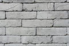 La struttura grigia del muro di mattoni Fotografia Stock Libera da Diritti