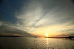 La struttura si appanna il blu di eternità del tramonto Immagine Stock Libera da Diritti