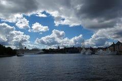 La Suède, baie images stock
