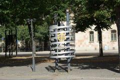 La Suède, sculpture moderne photos libres de droits