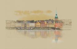 La Suède, Stockholm photos stock