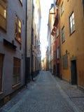 La Suède, Stockholm - la vieille ville de Gamla Stan images libres de droits