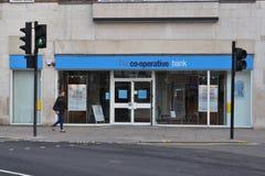 La succursale bancaria cooperativa Immagini Stock
