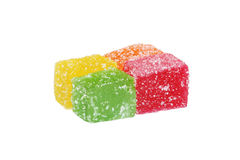 la sucrerie cube la gelée Image libre de droits