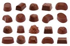 La sucrerie de chocolat a isolé Image stock