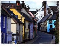 La Suffolk di Bungay della via del ponte immagini stock libere da diritti