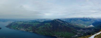 La Suisse centrale Photo libre de droits
