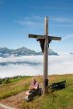 La Suisse dans les montagnes Photos libres de droits