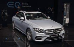 La Suisse ; Genève ; Le 8 mars 2018 ; Diesel classe de la e de Mercedes-Benz photos stock