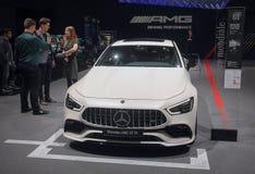 La Suisse ; Genève ; Le 8 mars 2018 ; Mercedes-Benz AMG GT 53 ;  Photos stock