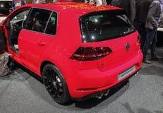La Suisse ; Genève ; Le 8 mars 2018 ; Volkswagen Golf R Perfor photo libre de droits