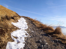 2013 - La Suisse, Tessin, lema de monte Photo libre de droits