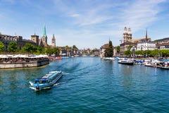 La Suisse, Zurich, Photo stock