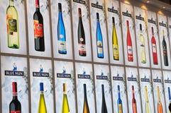 La suora blu wines tabellone per le affissioni Fotografia Stock Libera da Diritti