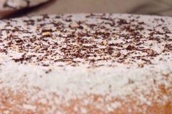 La superficie de la torta de maíz Fotos de archivo