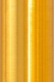 La superficie de metal es marrón de oro Fotografía de archivo